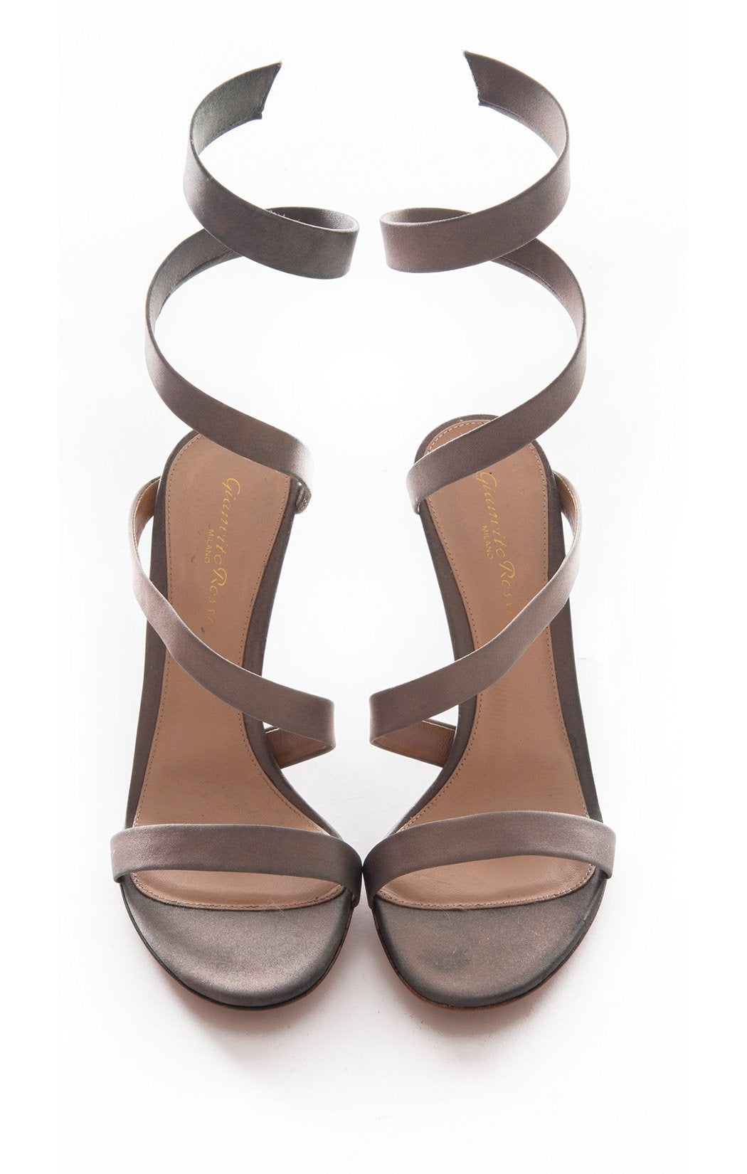 Front view of GIANVITTO ROSSI w/tags Sandal Size: 9