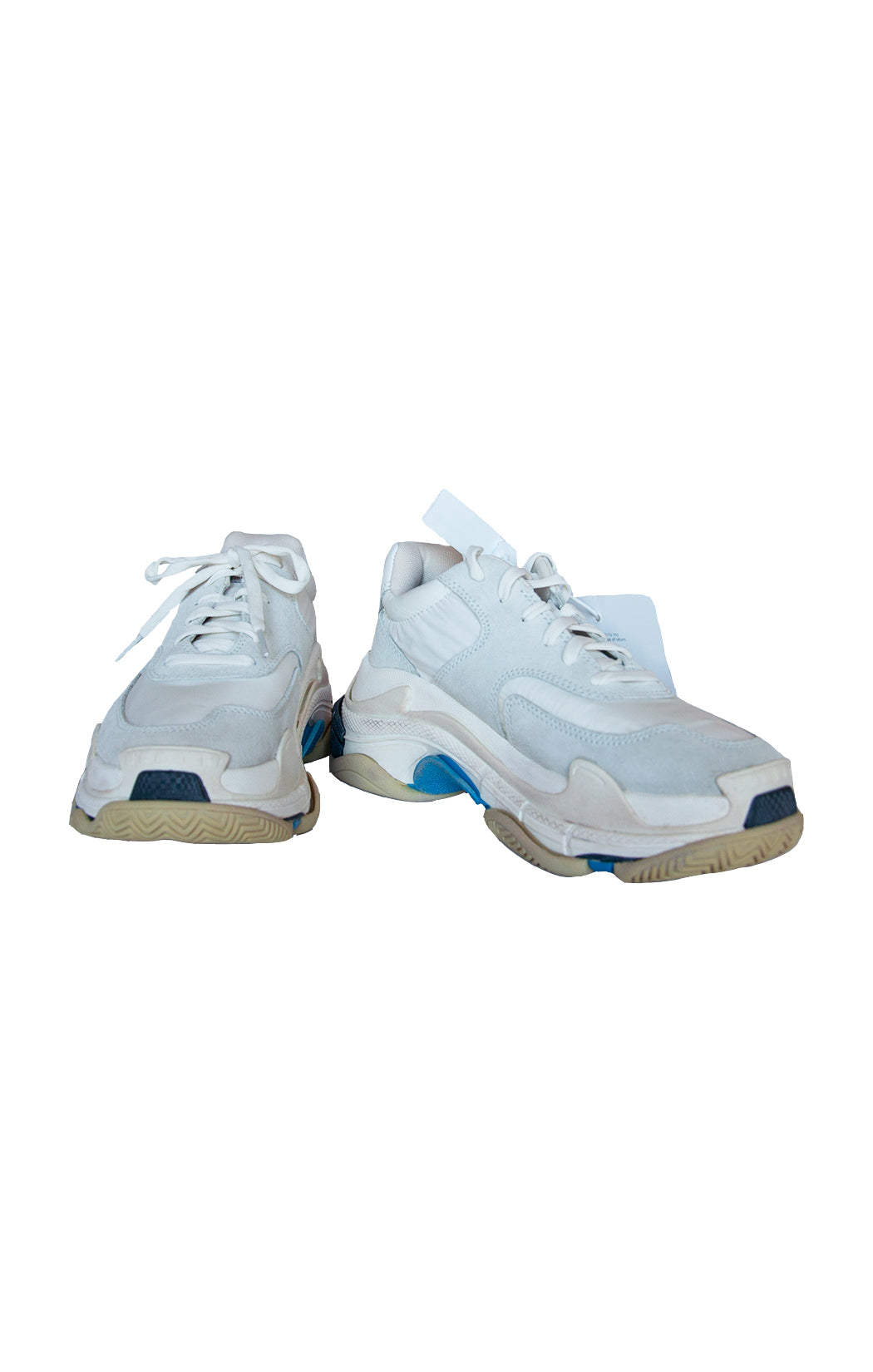 Front view of BALENCIAGA Sneakers with Tags Size: US 9