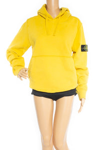 Closeup view of STONE ISLAND w/tags Sweatshirt Size: Medium