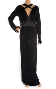 Front view of GIVENCHY Long dress Size: FR 40 ( comparable to US 8)