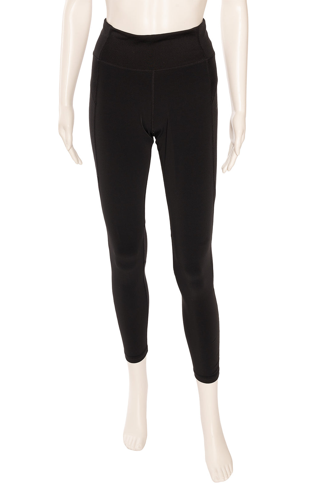 "Black ""climalite"" high rise leggings"
