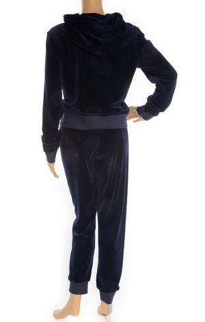 Back view of JUICY COUTURE Velour tracksuit