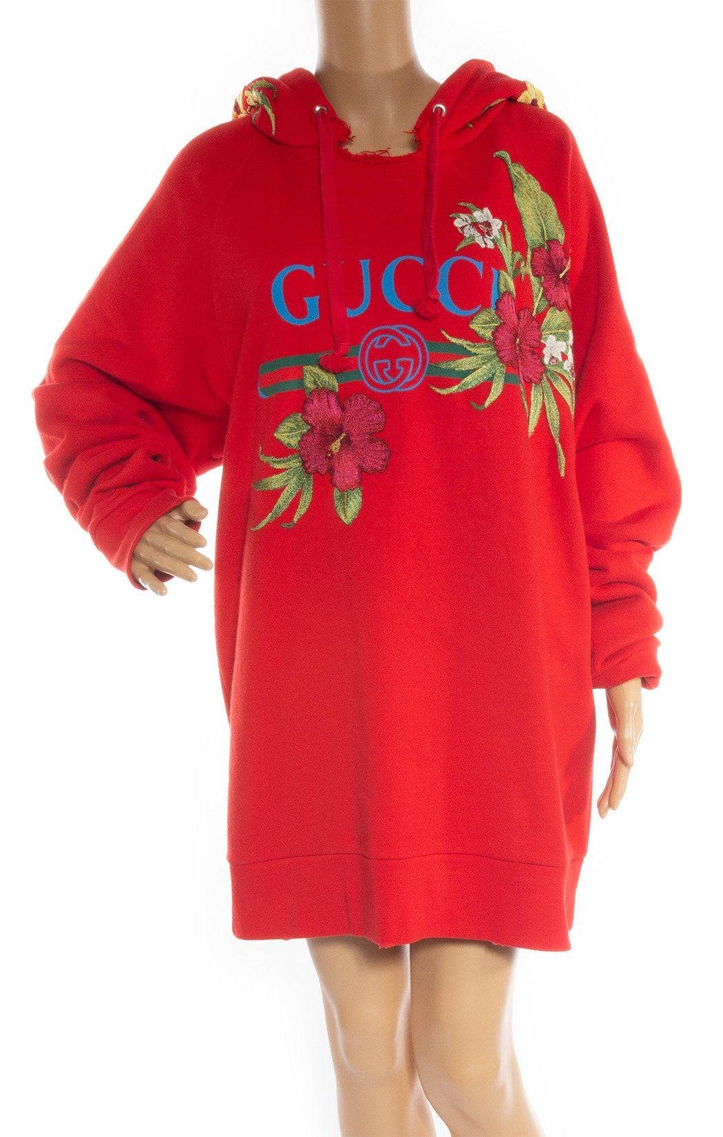 Front closeup of GUCCI Embroidered sweatshirt Size: Large