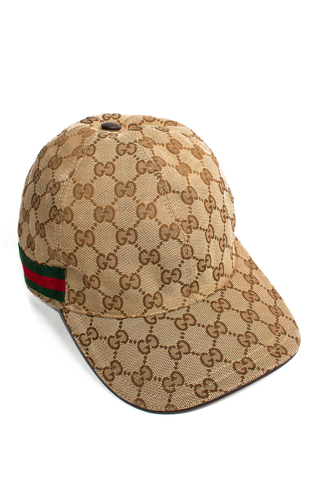 "Front view of GUCCI Baseball logo hat Size: 23"" M"