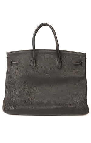 Back view of HERMES BIRKIN 40 Handbag