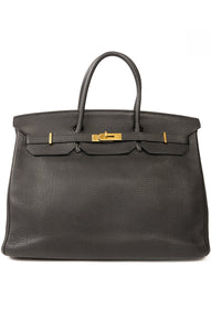 Front view of HERMES BIRKIN 40 Handbag