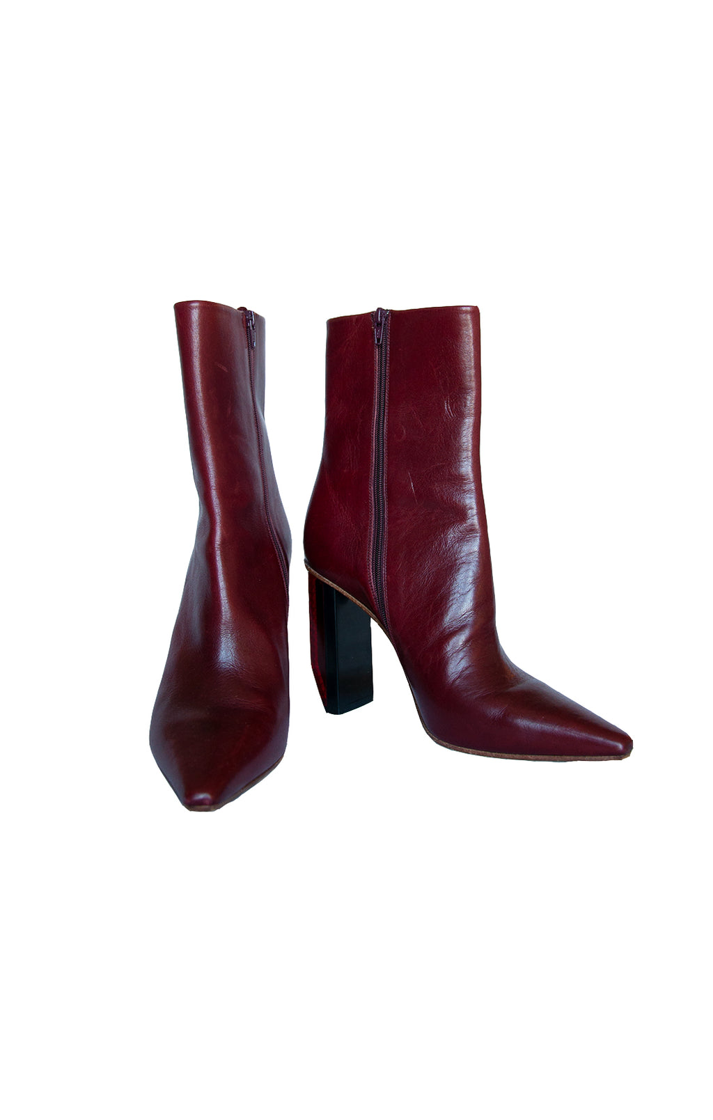 Front view of VETEMENTS Ankle Boots Size: IT 38 (US 8)