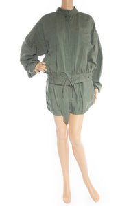 Front view of FRAME  Jacket and short set Size: Jacket-Large, shorts-Medium