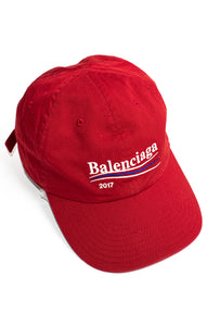 "Front view of BALENCIAGA Baseball hat Size: 24"" L"