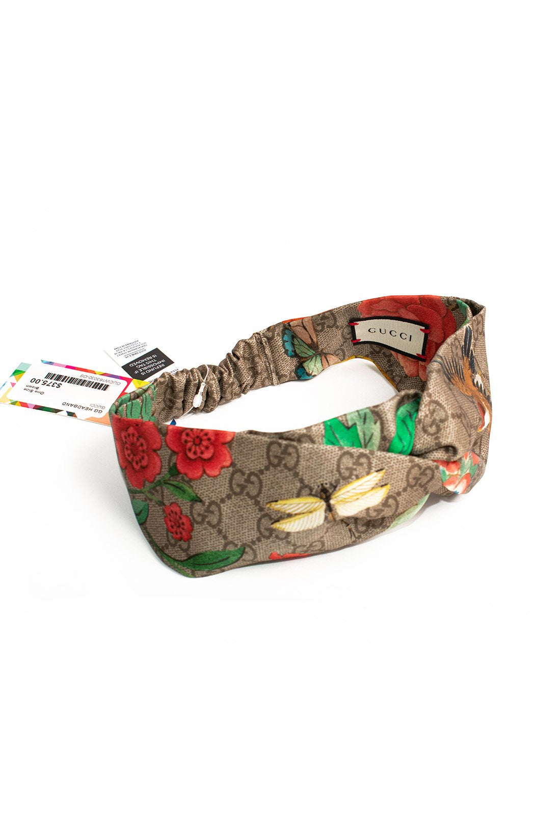 Back view of GUCCI with tags Headband