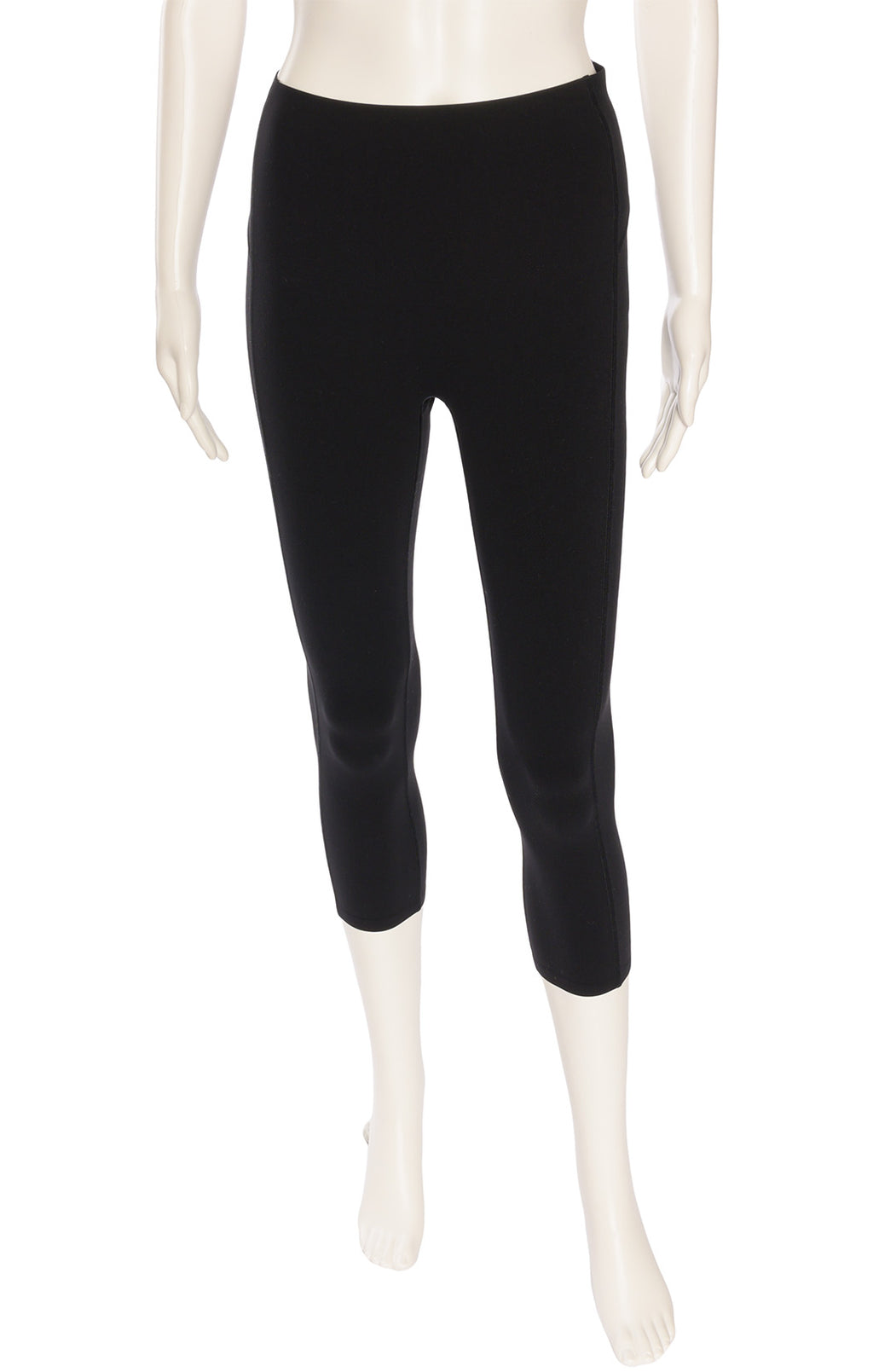 Black capri length Shape wear