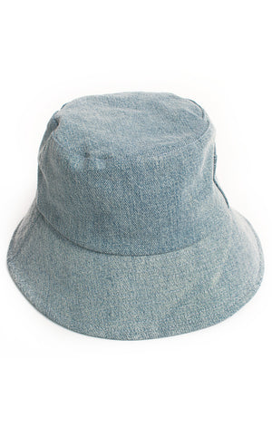 Back view of LACK OF COLOR x BOYISH with tags Bucket hat