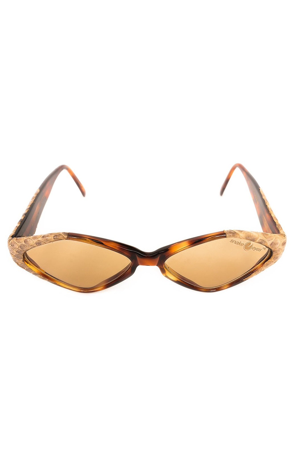 "Front view of CAVIAR Sunglasses  Size: 5.5"" W x 1.5"" H"