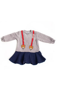 Front view of MOSCHINO Dress Size: 12-18 months