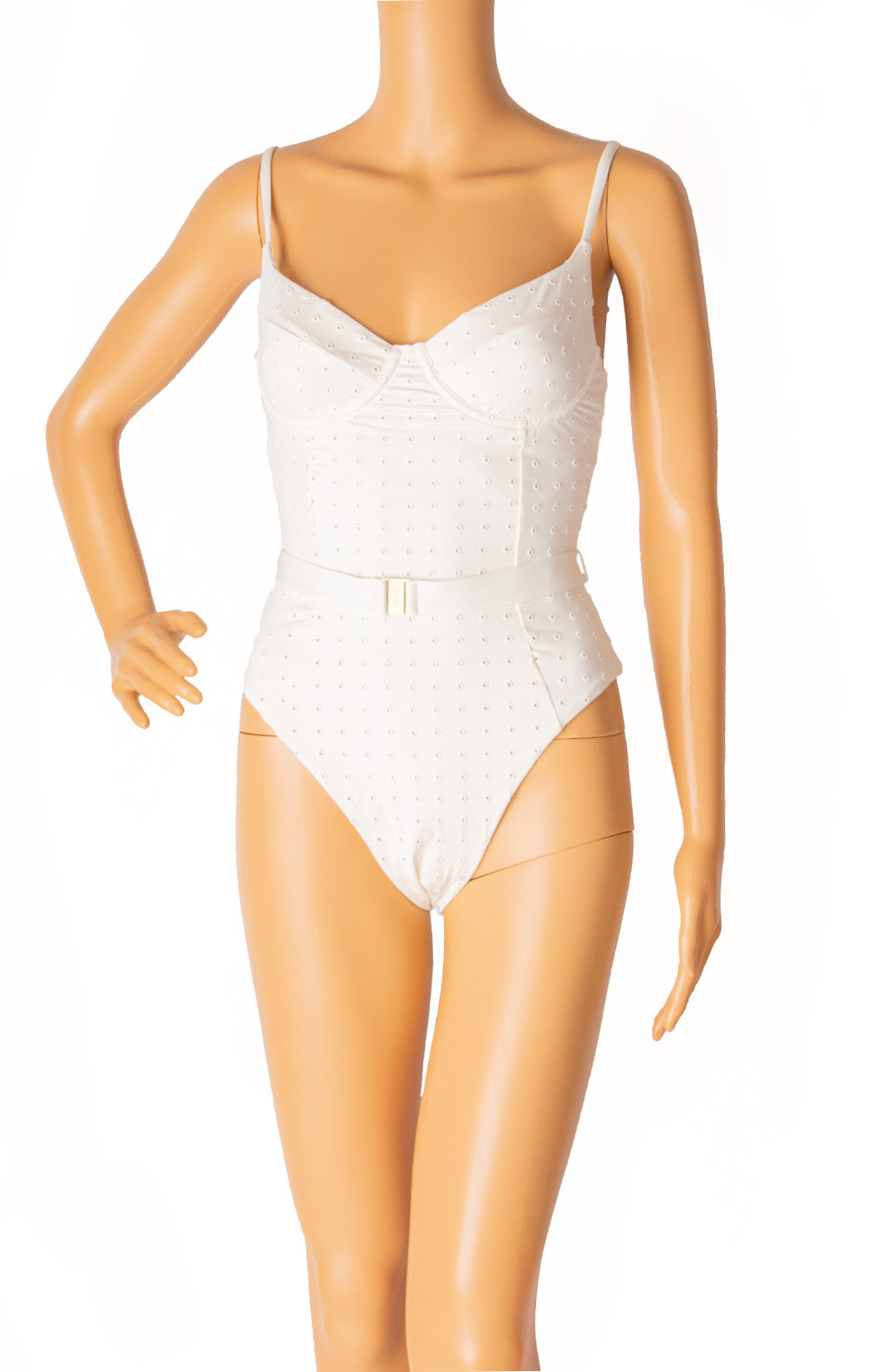 Front view of ONIA with tags One piece bathing suit  Size: Small