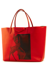 "Front view of GIVENCHY w/tags Tote Size: 12.5"" H, 14.75"" W, 6.5"" D"