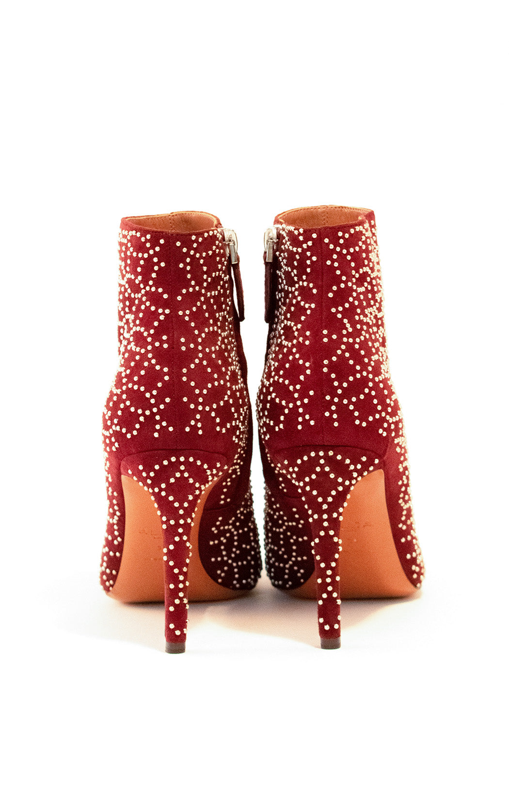 Back view of ALAIA Ankle boot