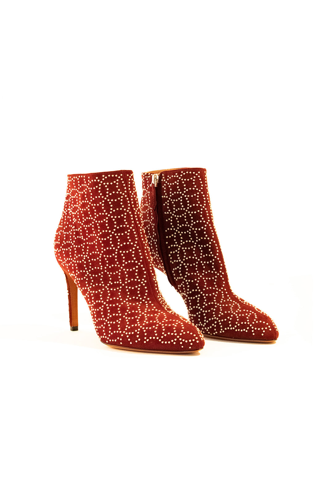 Front view of ALAIA Ankle boot Size: 9