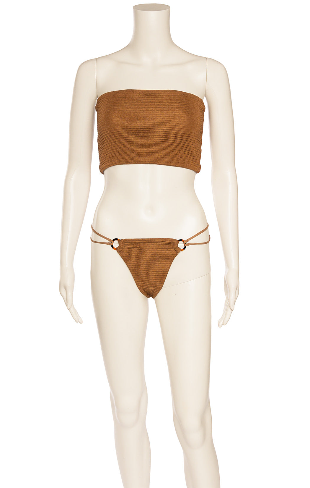 Front view of JUILLET Bikini Size: Top - Small, Bottom - Medium