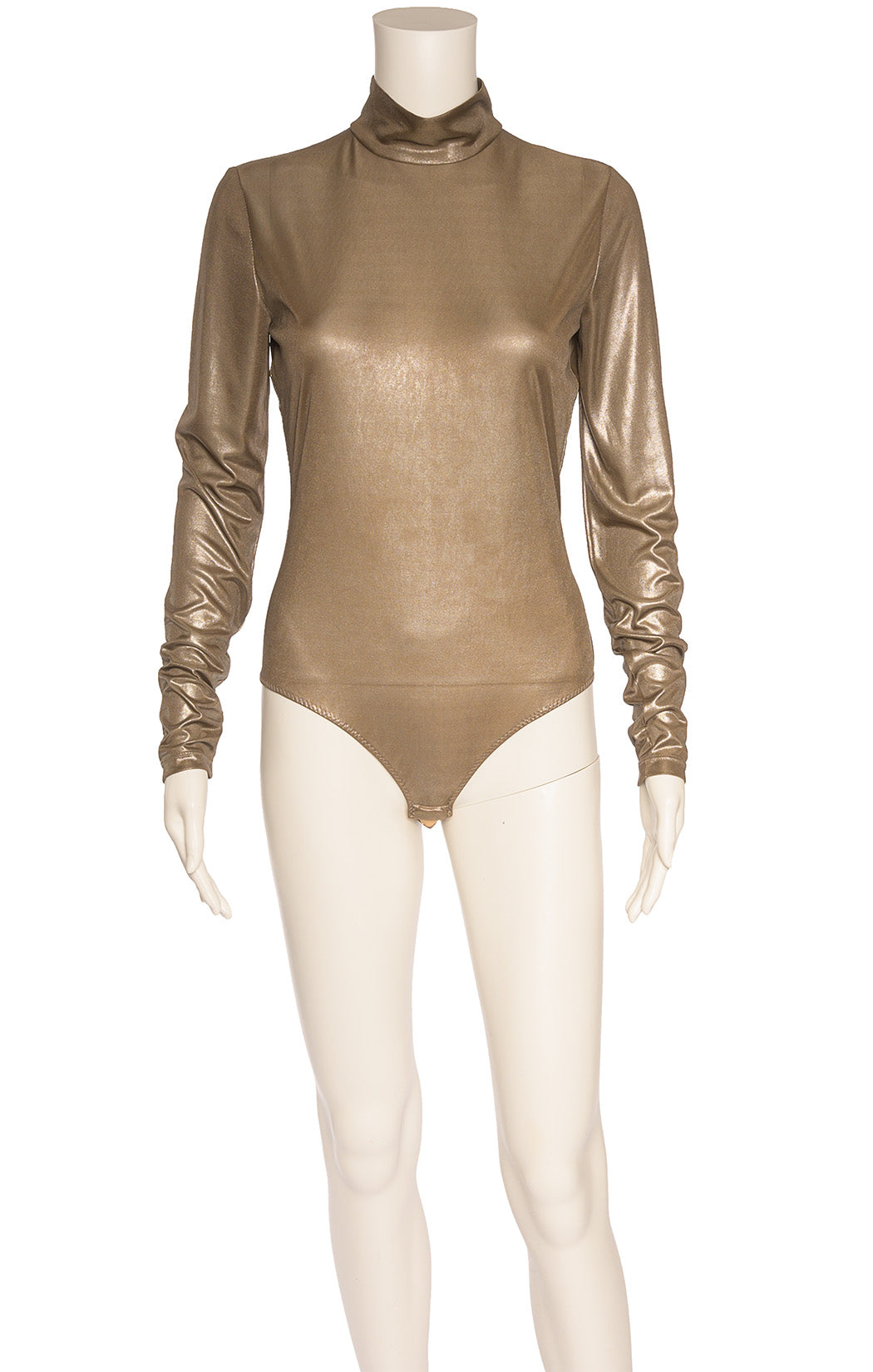 Front view of VERSACE  Bodysuit Size: IT 40 (comparable to US 2-4)
