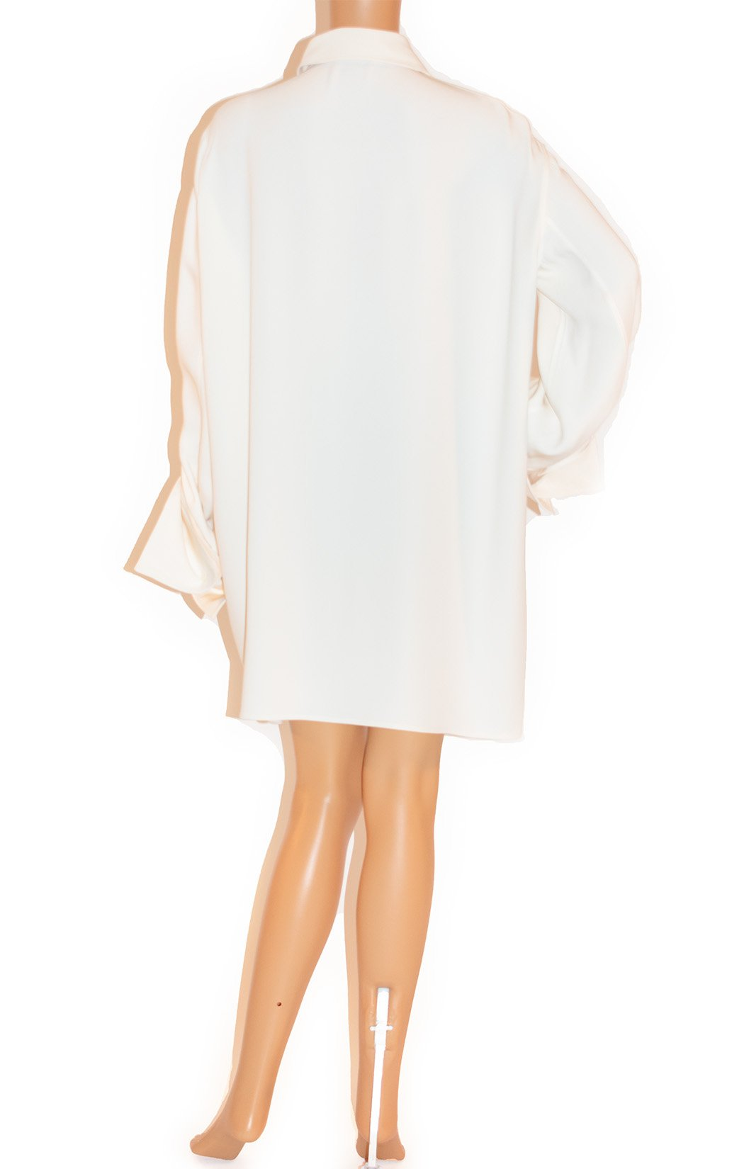 Back view of CELINE Tunic blouse (oversized)
