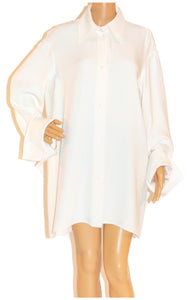 Closeup of CELINE Tunic blouse (oversized) Size: FR 38 (comparable to US 6)