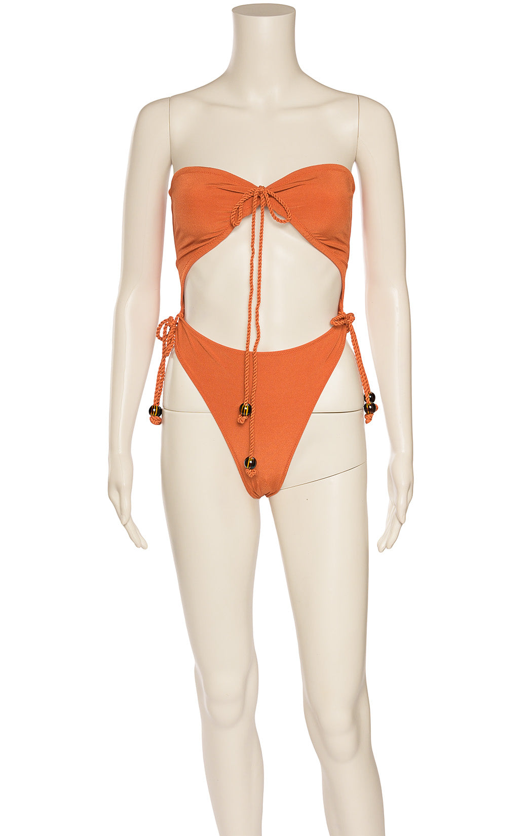 Front view of TROPIC OF C  One piece bathing suit Size: Small