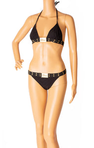 Front view of CHRISTIAN DIOR Bikini Size: FR 38 (comparable to US size 6)