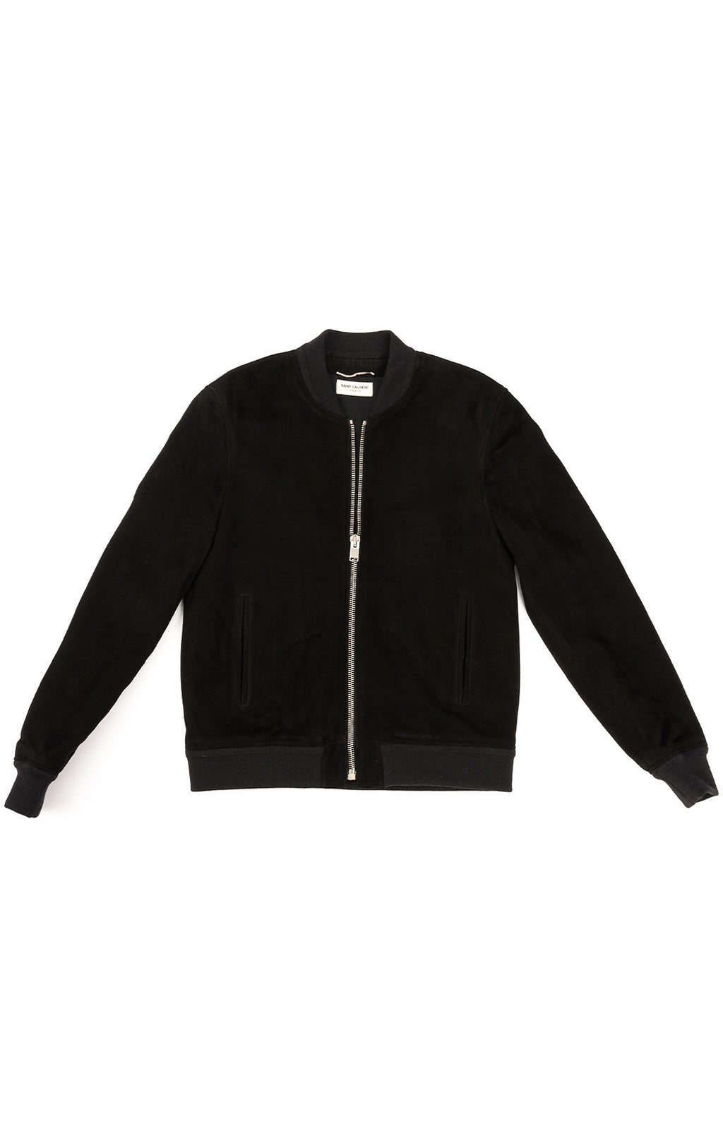 Front view of SAINT LAURENT Jacket Size: No size tags fits like men's medium