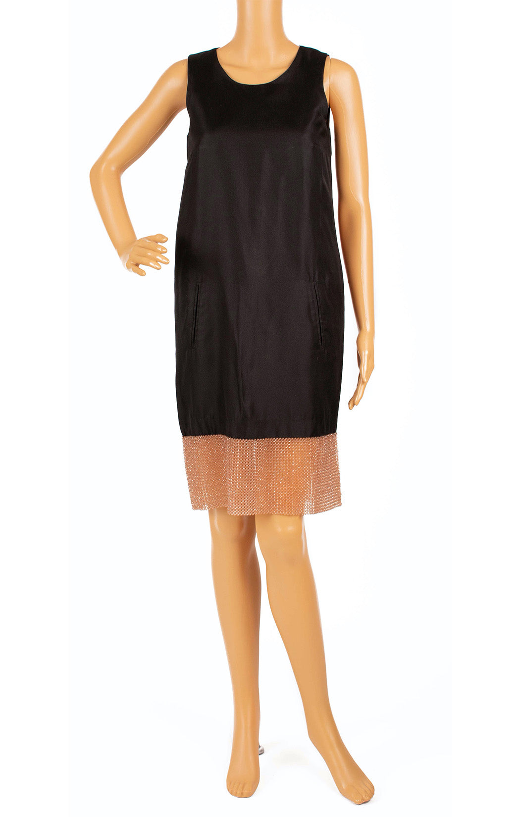 Front view of HAUTE Dress Size: IT 40 (comparable to US 4)