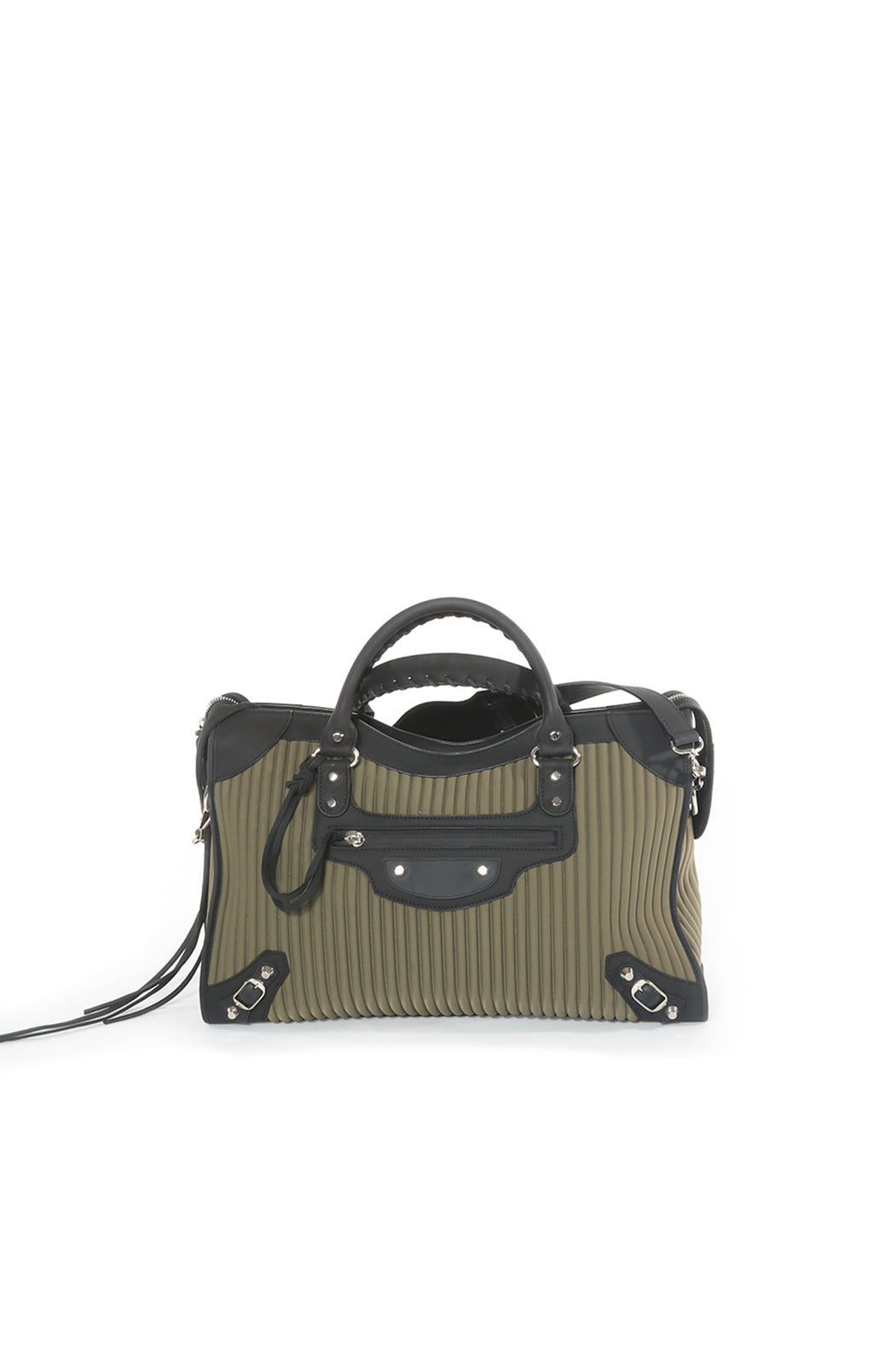 Front view of BALENCIAGA Handbag Size: 15in x 10 in x 5.5in
