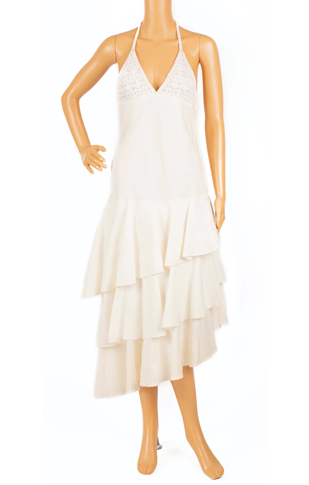 Front view of RALPH LAUREN Dress Size: 4
