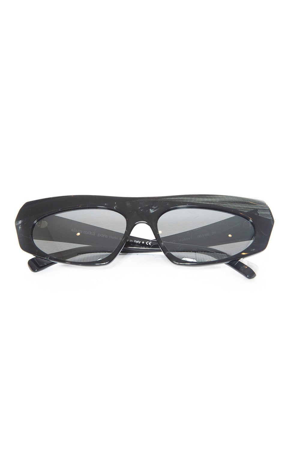 "Front view of ALAIN MIKLI Sunglasses Size: 1.75"" H x 6"" W"