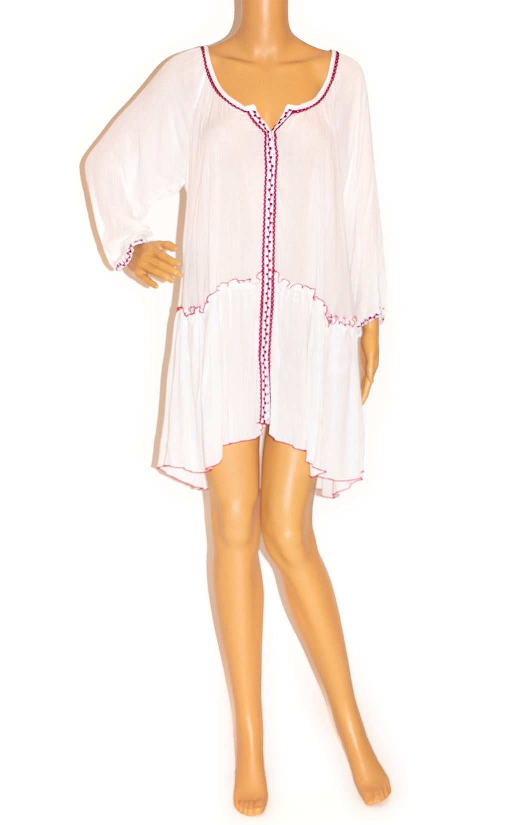 Front view of POUPETTE, St. Barth Dress Size: Medium