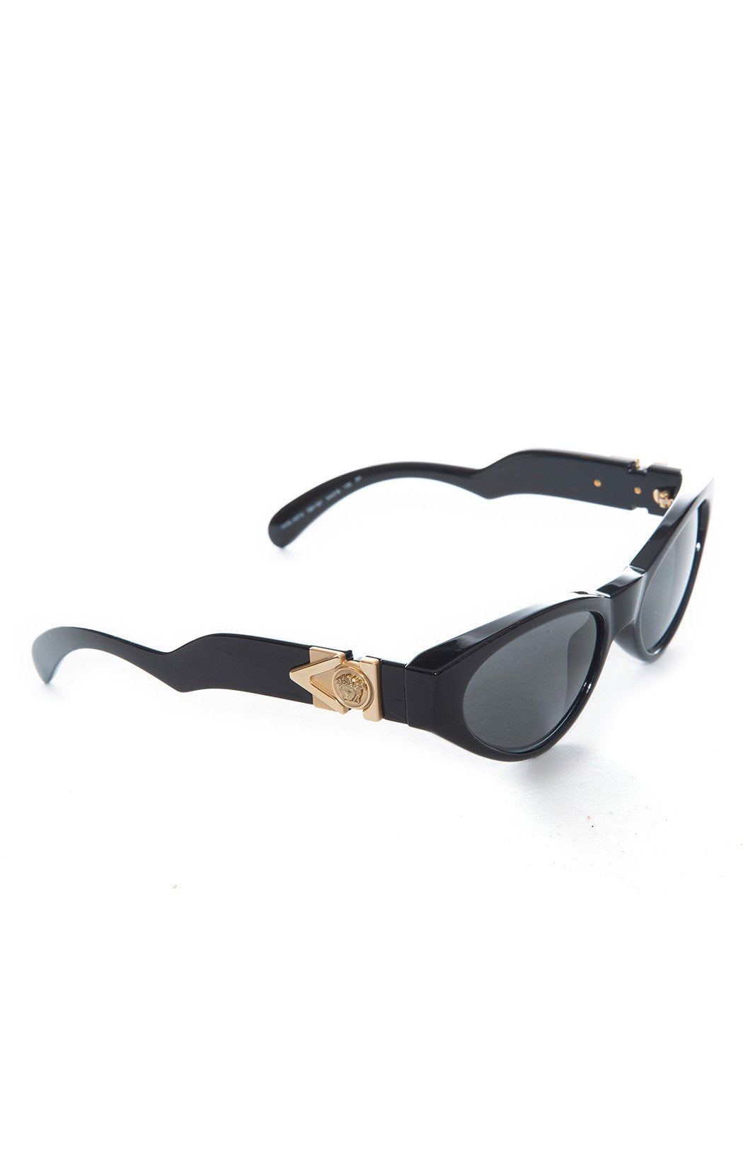 Side view of VERSACE with case Sunglasses