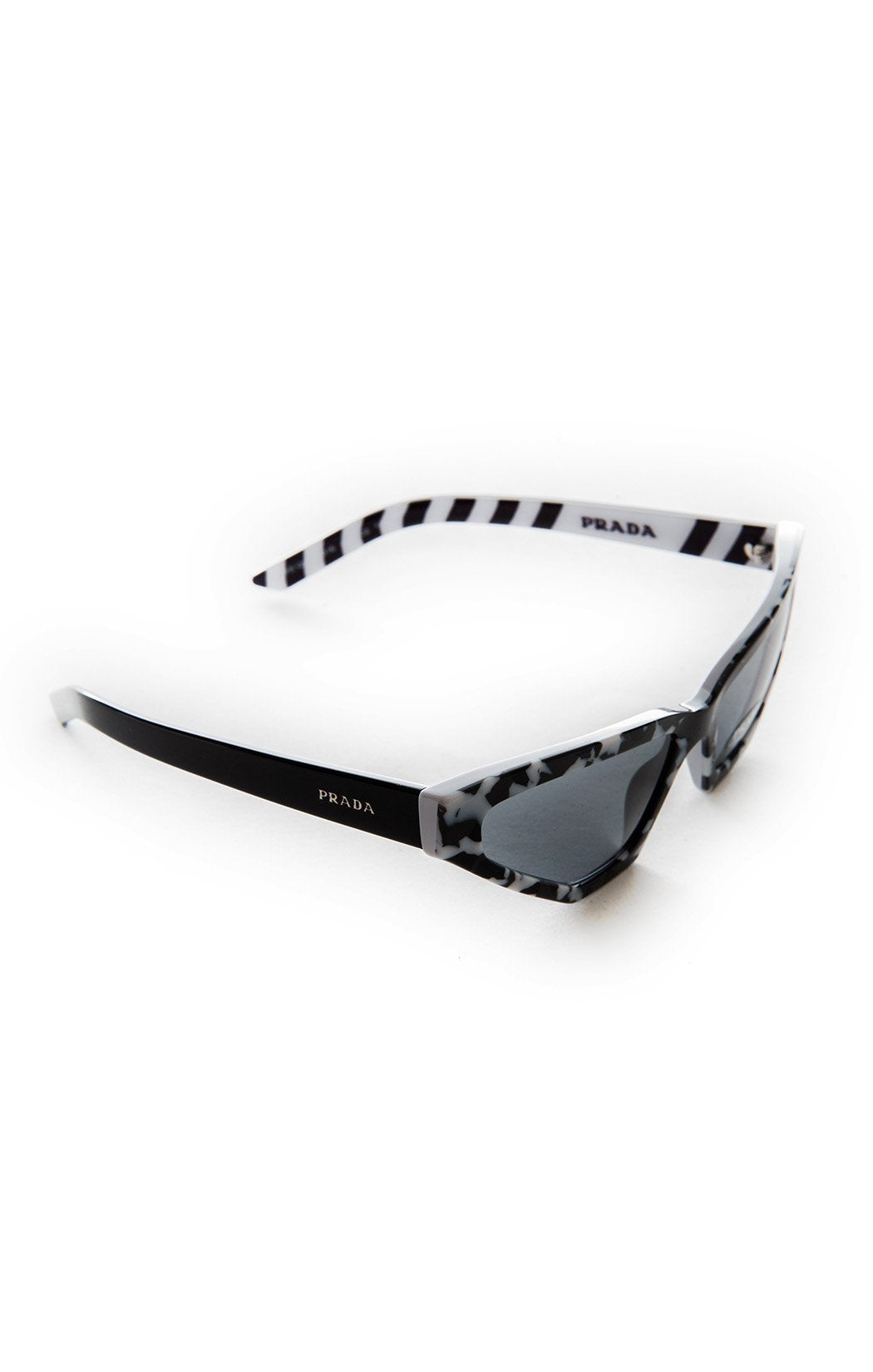 Side view of PRADA with case Sunglasses
