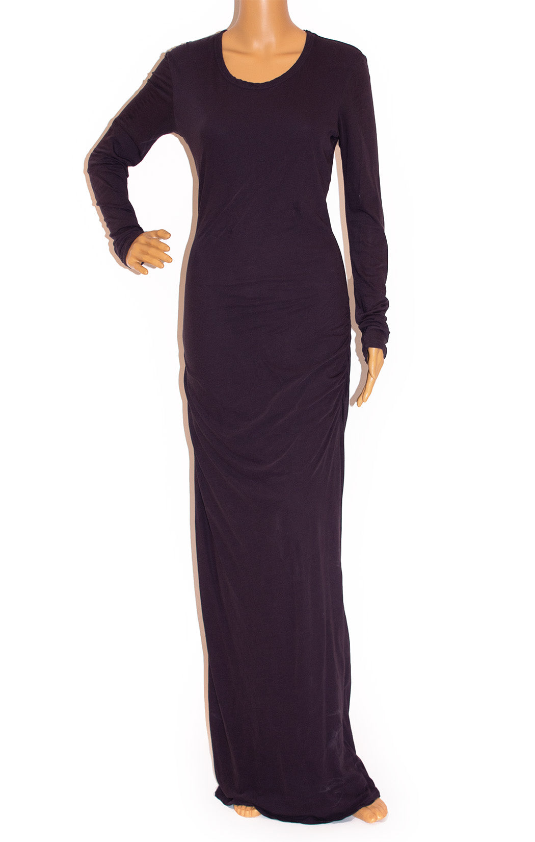 Front view of JAMES PERSE Long dress Size: Medium
