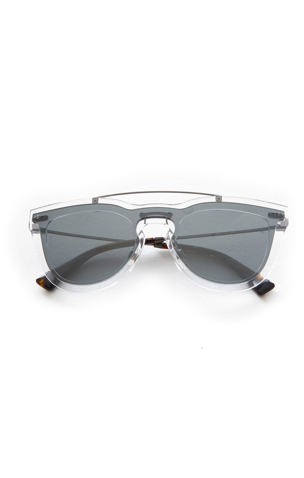 "Front view of VALENTINO Sunglasses Size: 2.25"" H x 5.5"" W"