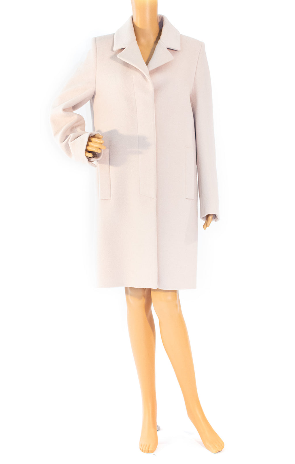 Front view of MAISON MARTIN MARGIELA Coat Size: IT 40 (comparable to US 4-6)