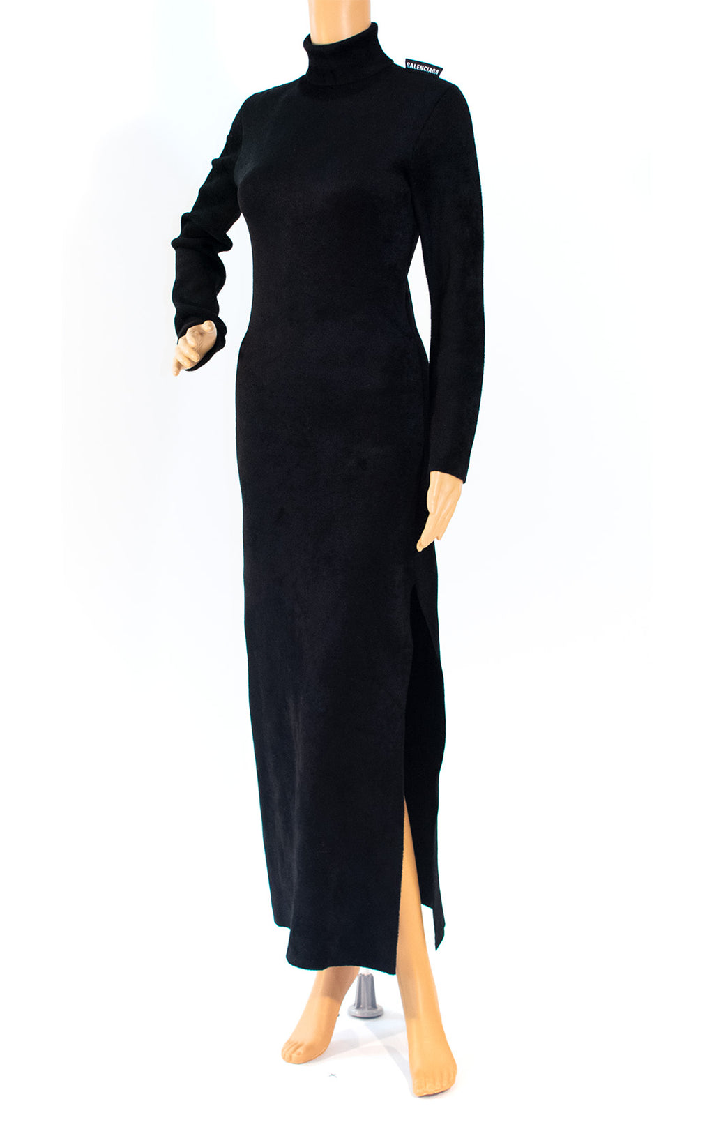 Front view of BALENCIAGA w/tags Long dress Size: Small