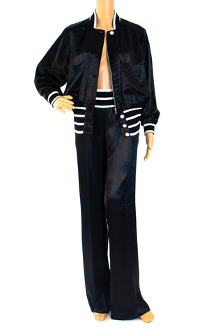 Front view of CHANEL Track/sweat/pant suit