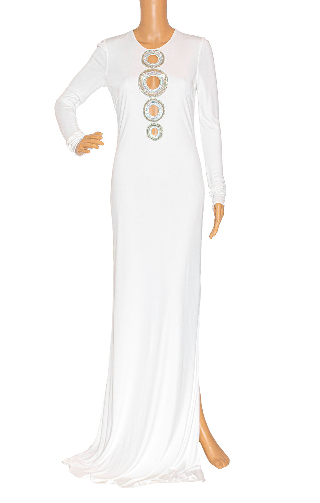 Front view of EMILIO PUCCI Long dress Size 8
