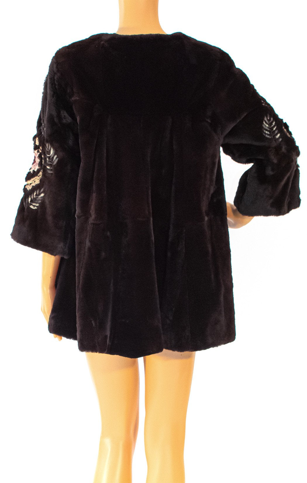 Back view of McGINN Fur jacket