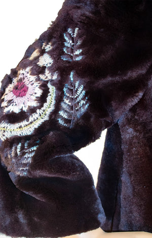Closeup of McGINN Fur jacket