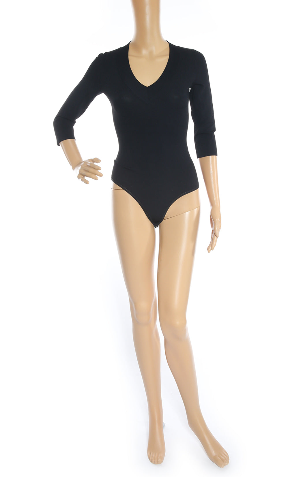 Front view of ALAIA Bodysuit with Tags