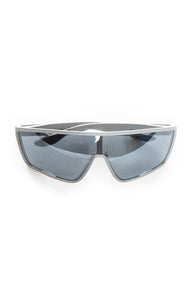"Front view of PRADA with case Sunglasses Size: 2"" H x 5.6"" W"