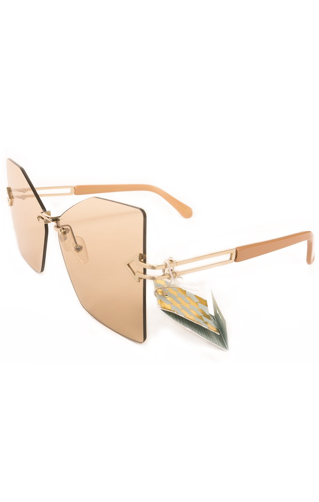 Side view KAREN WALKER with tags  Sunglasses