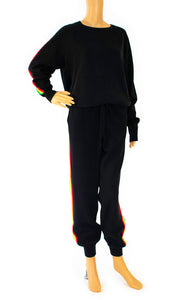 Front view of IRIS VON HALLE Sweat outfit Size: Medium
