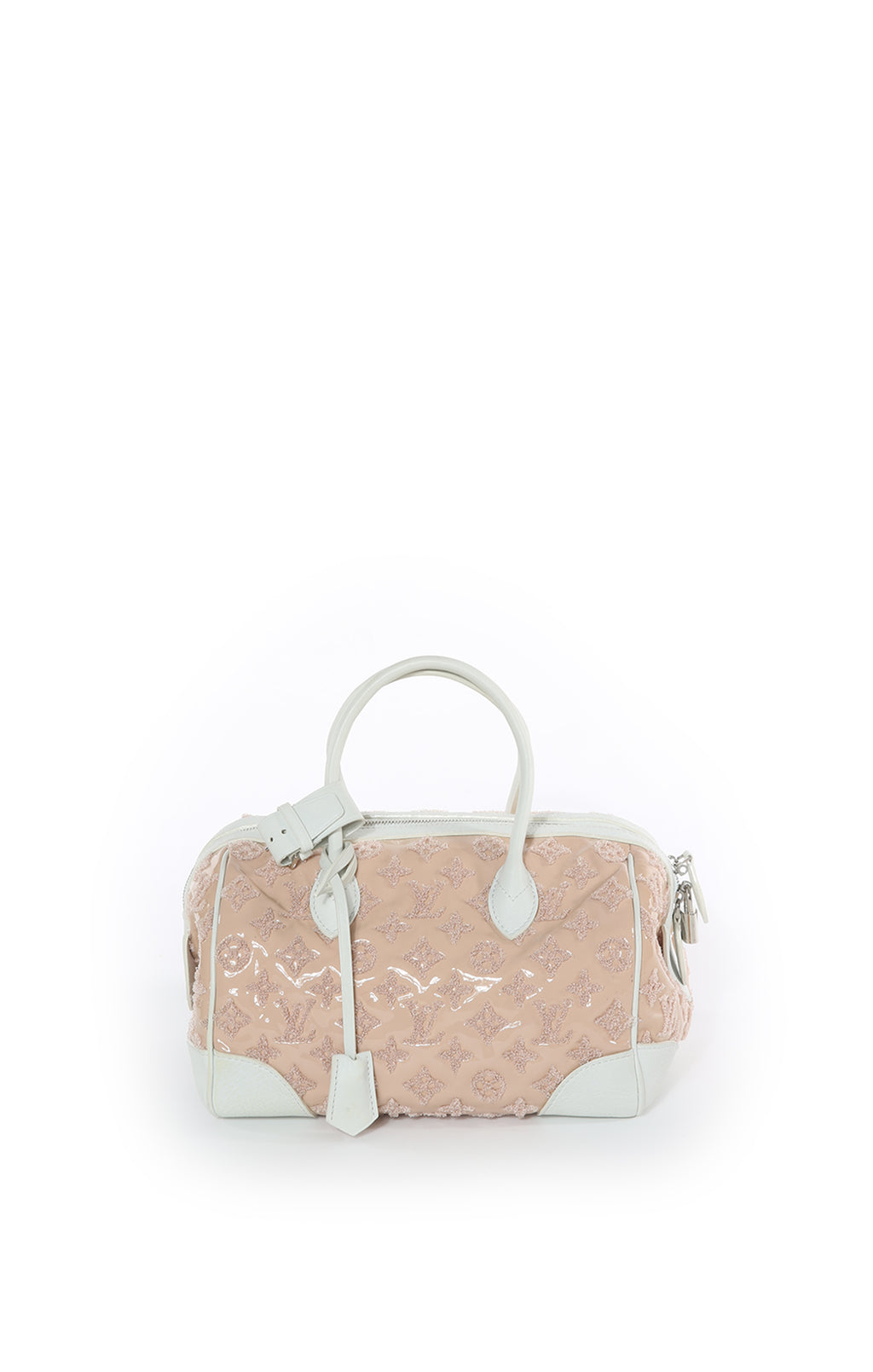 Front view LOUIS VUITTON Handbag Size: 11.5 in x 8 in x 8 in
