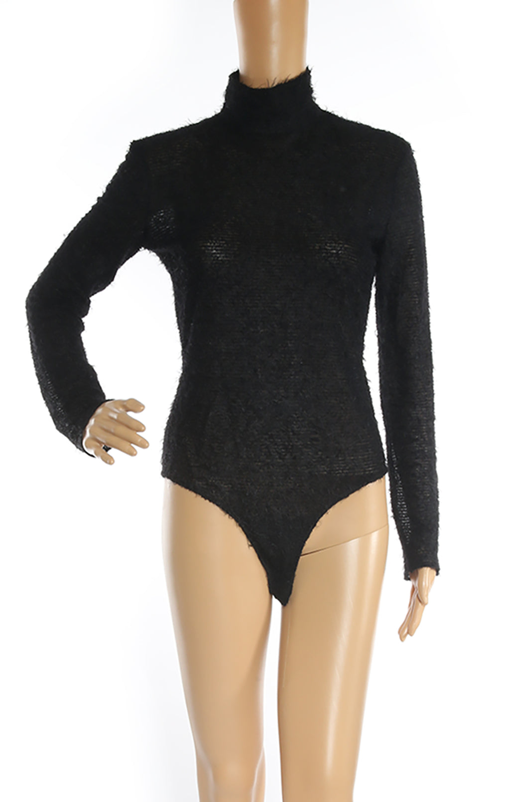 Closeup of VERONIQUE LEROY Bodysuit with Tags Size: FR 36 (US 4)